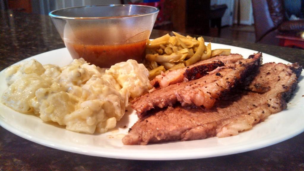 Smoked Beef Brisket Enchiladas | Use leftover beef brisket to make homemade enchiladas. | TheMountainKitchen.com