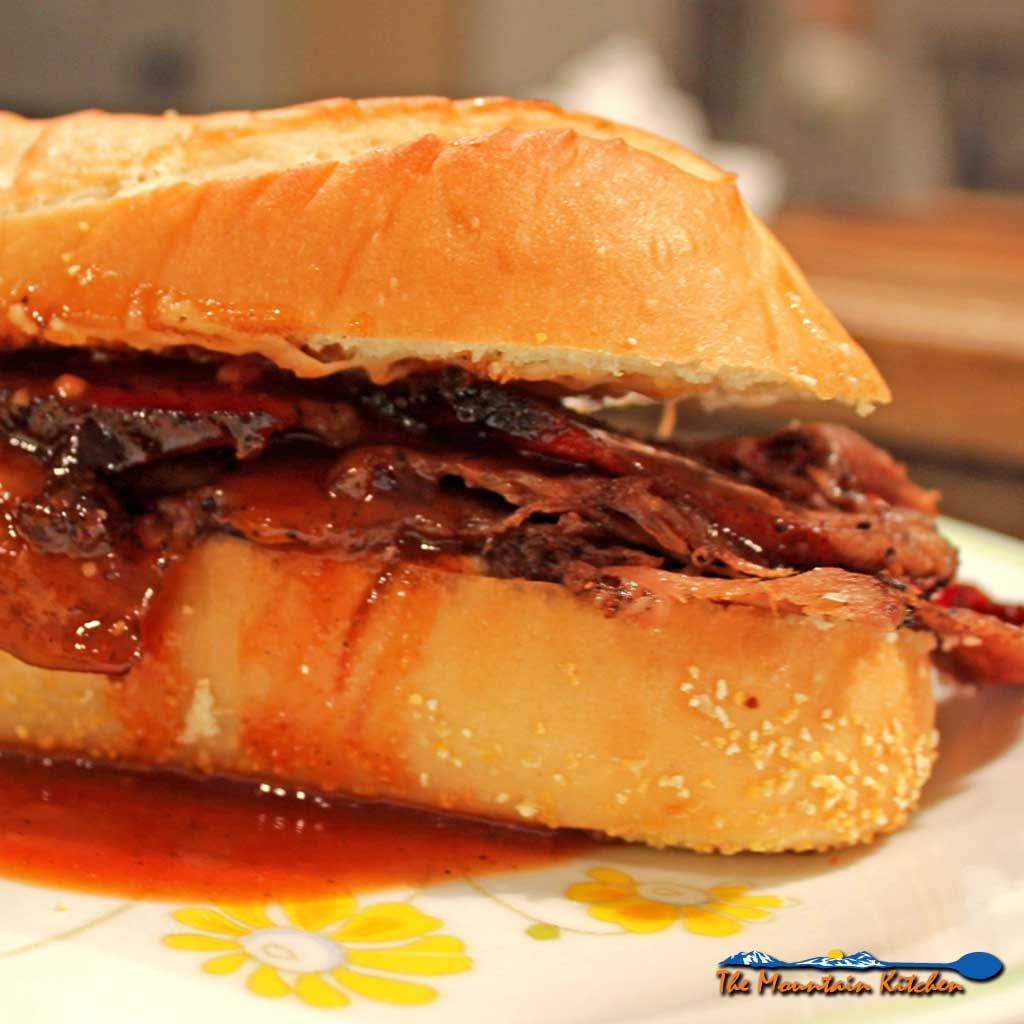 Leftover Beef Brisket Sandwiches