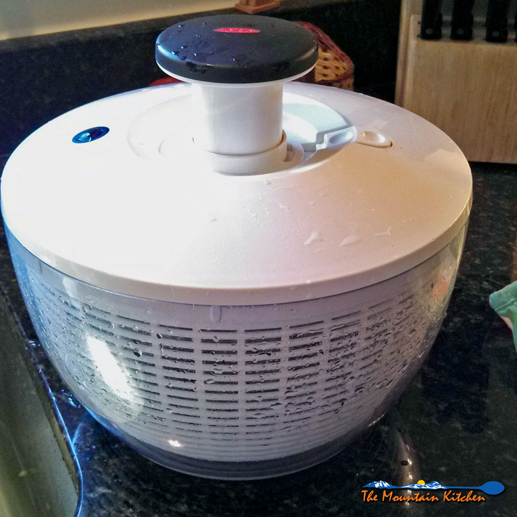 The Uses of a Salad Spinner {The Mountain Kitchen Tips