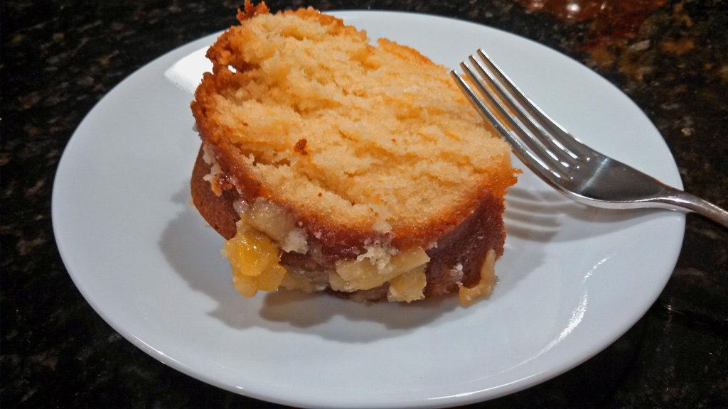 Pineapple Zucchini Bundt Cake