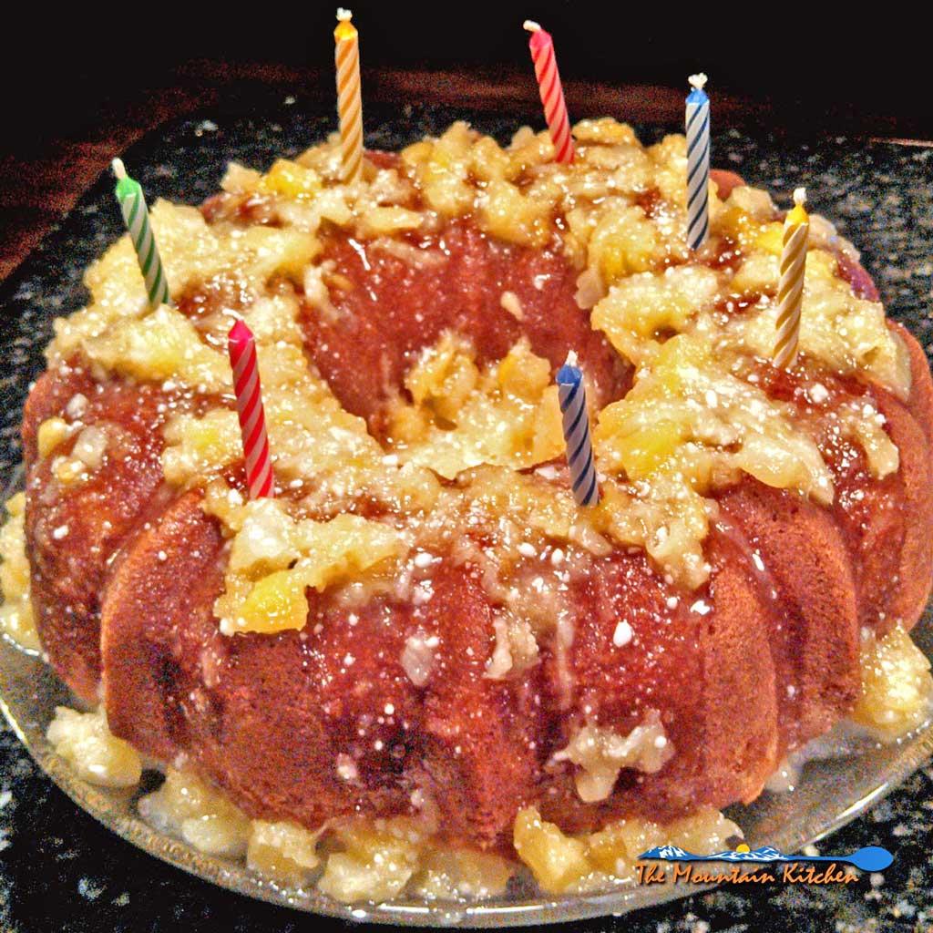 Pineapple Bundt Cake With Pineapple Glaze