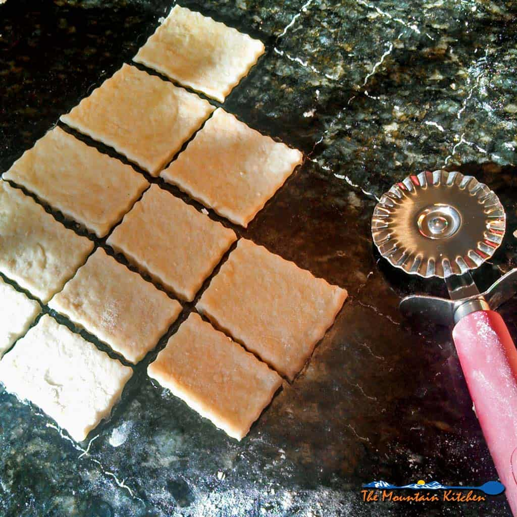 Homemade Saltine Crackers
