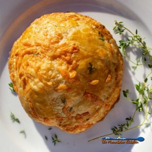 Mushroom Wellington {A Meatless Monday Recipe