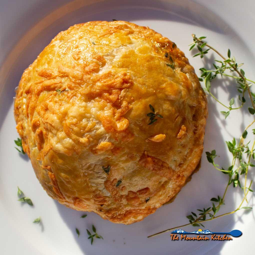 Mushroom Wellington {A Meatless Monday Recipe