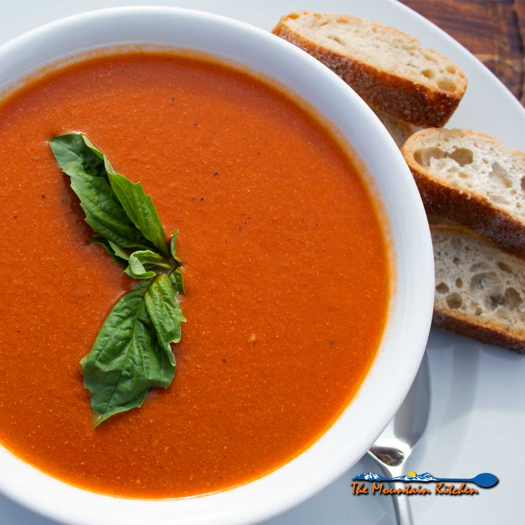 Roasted Tomato Soup {A Meatless Monday Recipe
