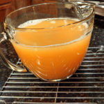 Many good seafood dishes start with a good shrimp stock. This shrimp stock has rich, intense flavor using scraps from shrimp. Make now. Freeze it for later!   TheMountainKitchen.com