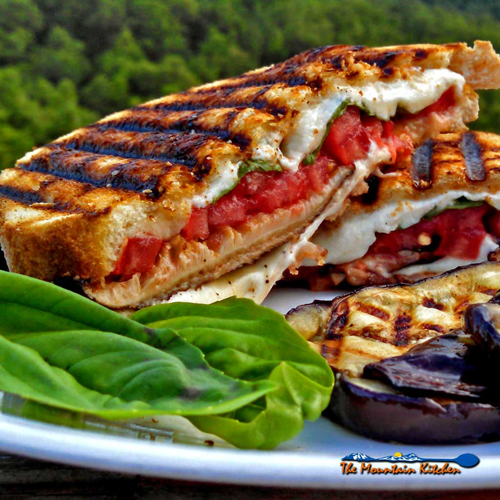 Grilled Mushroom Caprese Sandwiches On Sourdough {Meatless Monday