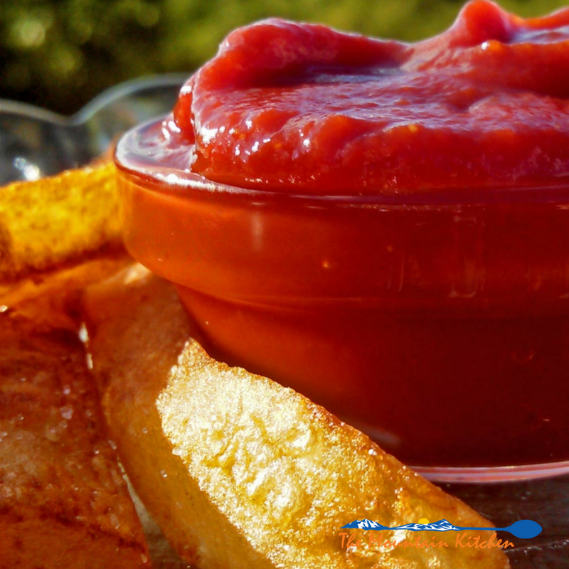 How to Make Homemade Ketchup {The Mountain Kitchen Tips