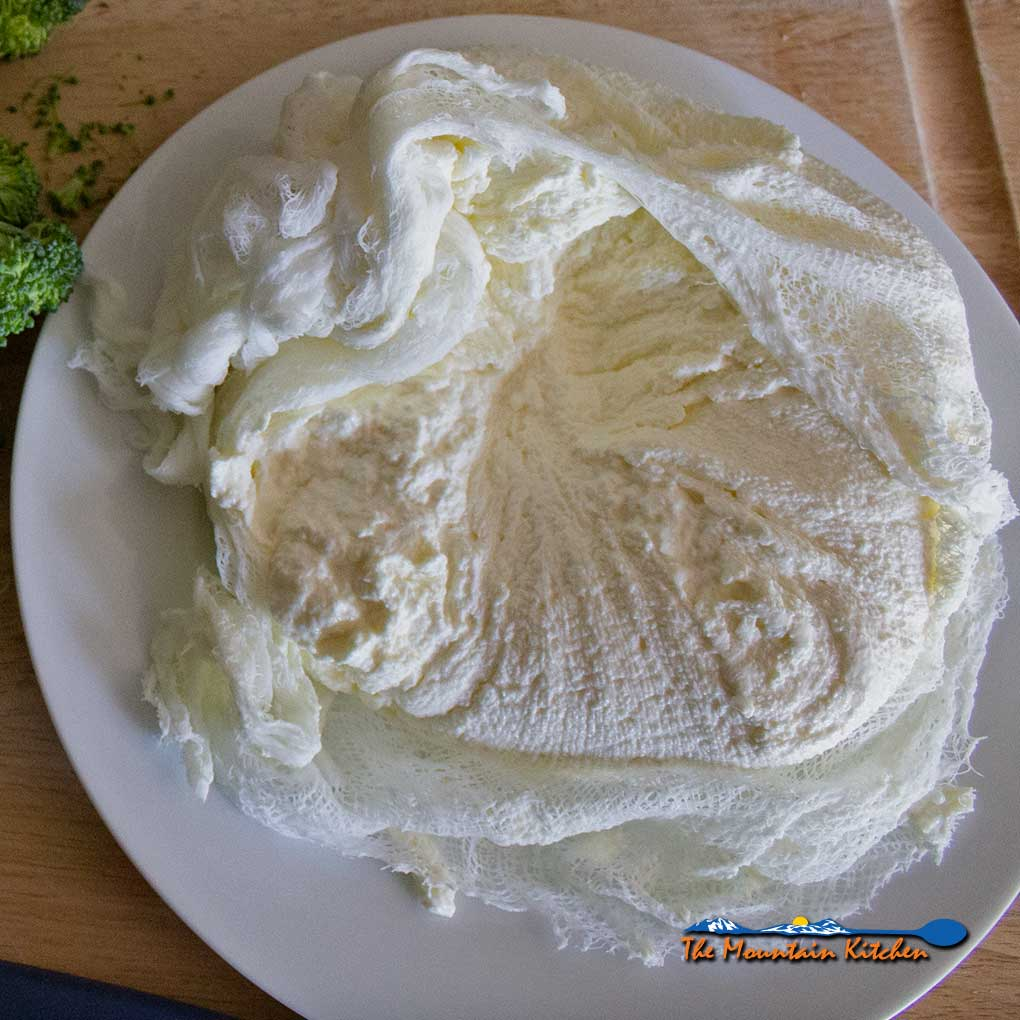 4-Ingredient Homemade Ricotta Cheese