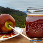 This caramel sauce is easy to make and can be used as a topping for any dessert, including ice cream, apples and more! A delicious treat! | TheMountainKitchen.com
