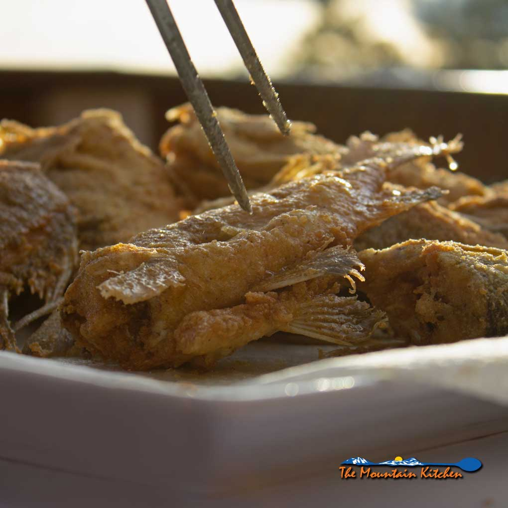 "Fried White Perch {A Recipe From ""River Folks"""