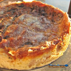 Mushroom Quiche {A Meatless Monday Recipe and Lessons Learned!