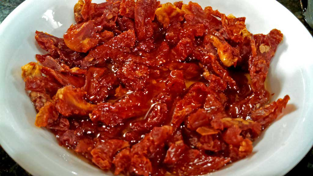 sun-dried tomatoes in bowl