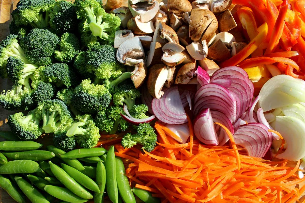 ingredients to make stir-fry