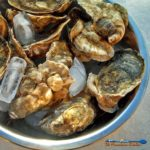 Raised on the Atlantic side of Virginia's eastern shore, Chincoteague Oysters are a full flavored oyster that pack an extremely salty punch.   TheMountainKitchen.com