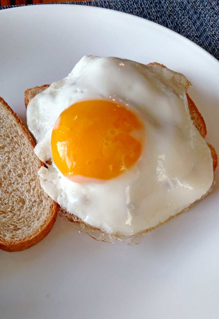 Do you know how to fry an egg? Frying an egg isn't difficult to do. Here are the steps you should take to fry the perfect egg: | TheMountainKitchen.com