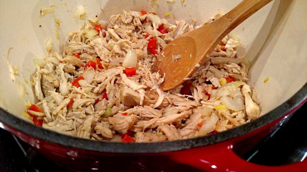 Chicken Sloppy Janes, like Sloppy Joes, but made with tender and juicy shredded chicken instead of beef. This recipe is quick and easy, and healthier! | TheMountainKitchen.com