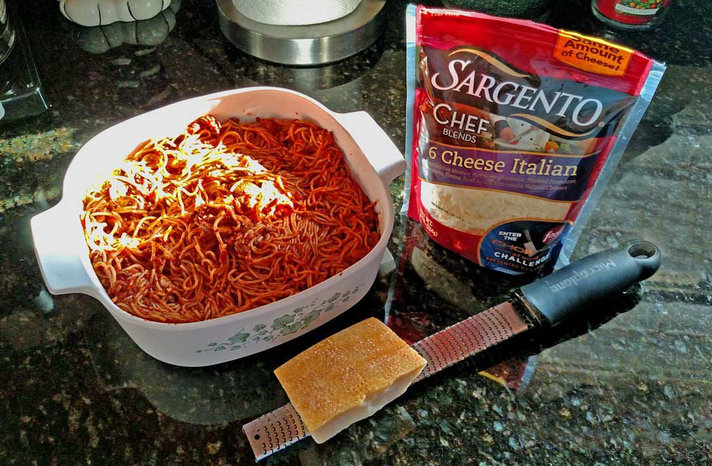 Baked Spaghetti Turns Leftovers A Brand New Ideny That Perhaps Even Your Pickiest Eater Will Love