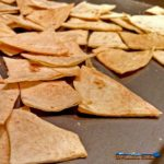 Baked Tortilla Chips: Crispy and crunchy these tortilla chips are oven baked and you are in control of all seasonings. | TheMountainKitchen.com
