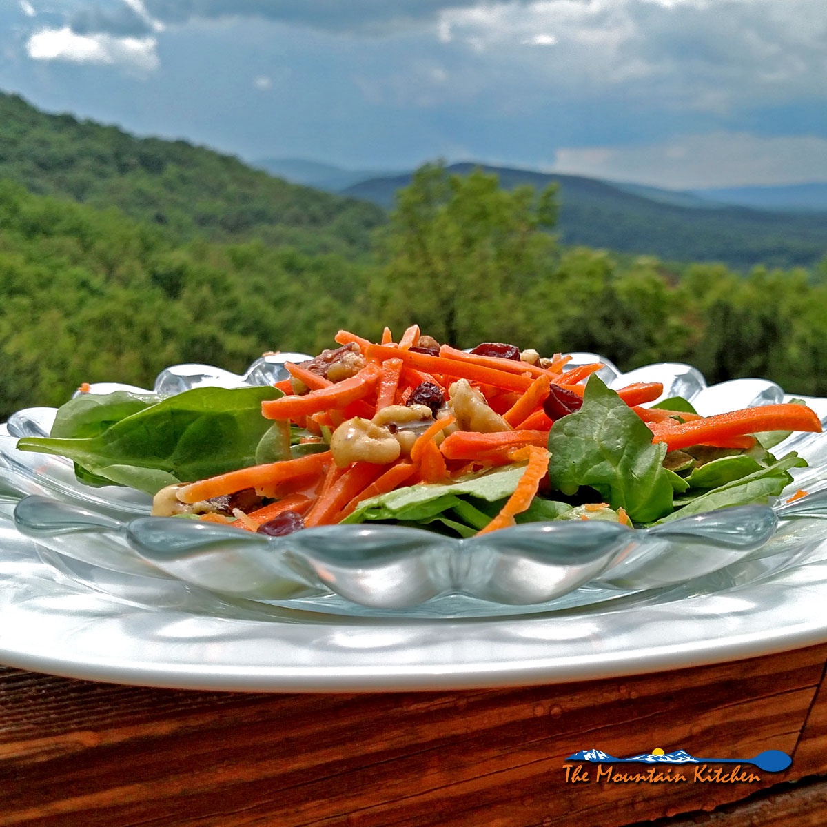 Carrot Salad With Homemade Dressing {A Meatless Monday Recipe