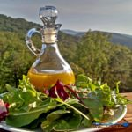 Sparkling… Crisp… Clear… This champagne vinaigrette is made with Dijon mustard, fresh lemon juice and sweetened with honey. | TheMountainKitchen.com