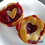 Easy to make, with fresh sweet cherries, these easy mini cherry pies are just as delicious as a full size pie, only cuter! | TheMountainKitchen.com