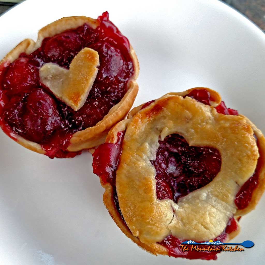 Easy Mini Cherry Pies