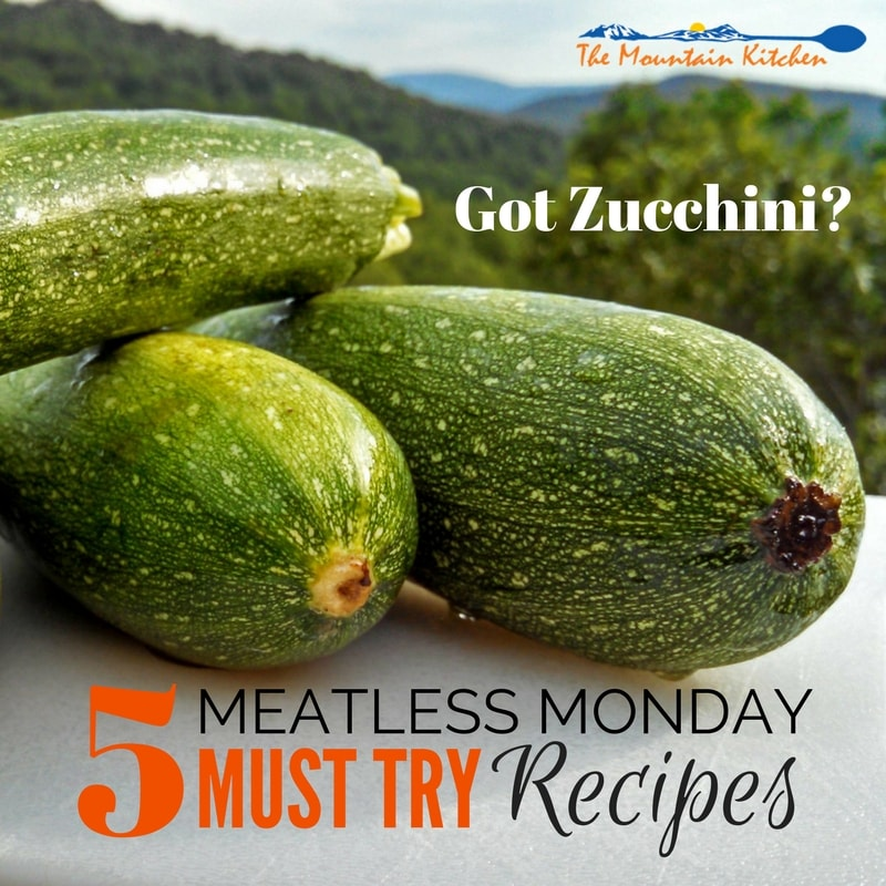 5 MUST TRY Zucchini Recipes {Meatless Monday Zucchini Recipes