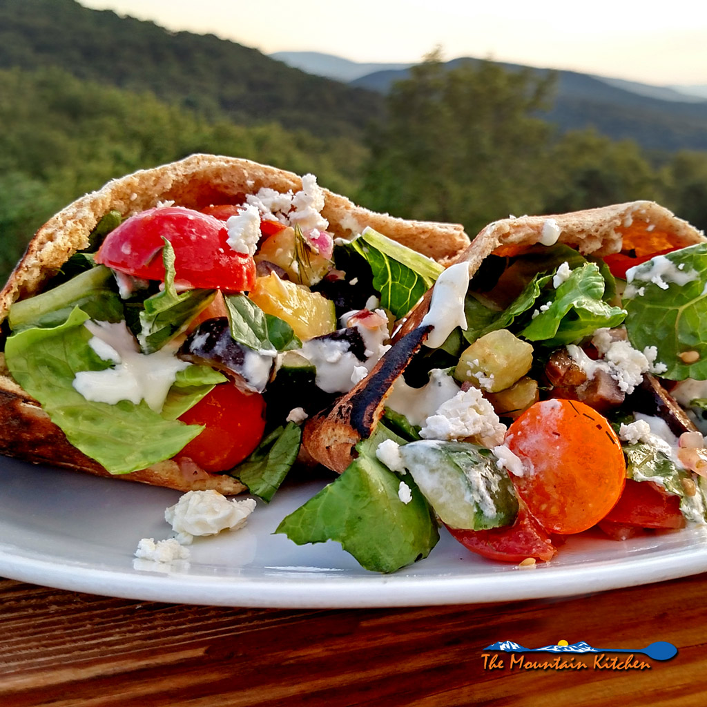 Greek Pita Sandwiches {A Meatless Monday Recipe