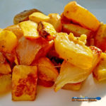 You'll love these Southern-Style Yellow Summer Squash. A savory-sweet combination of tender, yellow summer squash and onions, kissed with smokey bacon. | TheMountainKItchen.com