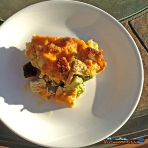 Curry Chicken Broccoli Casserole {From Another Lifetime Ago