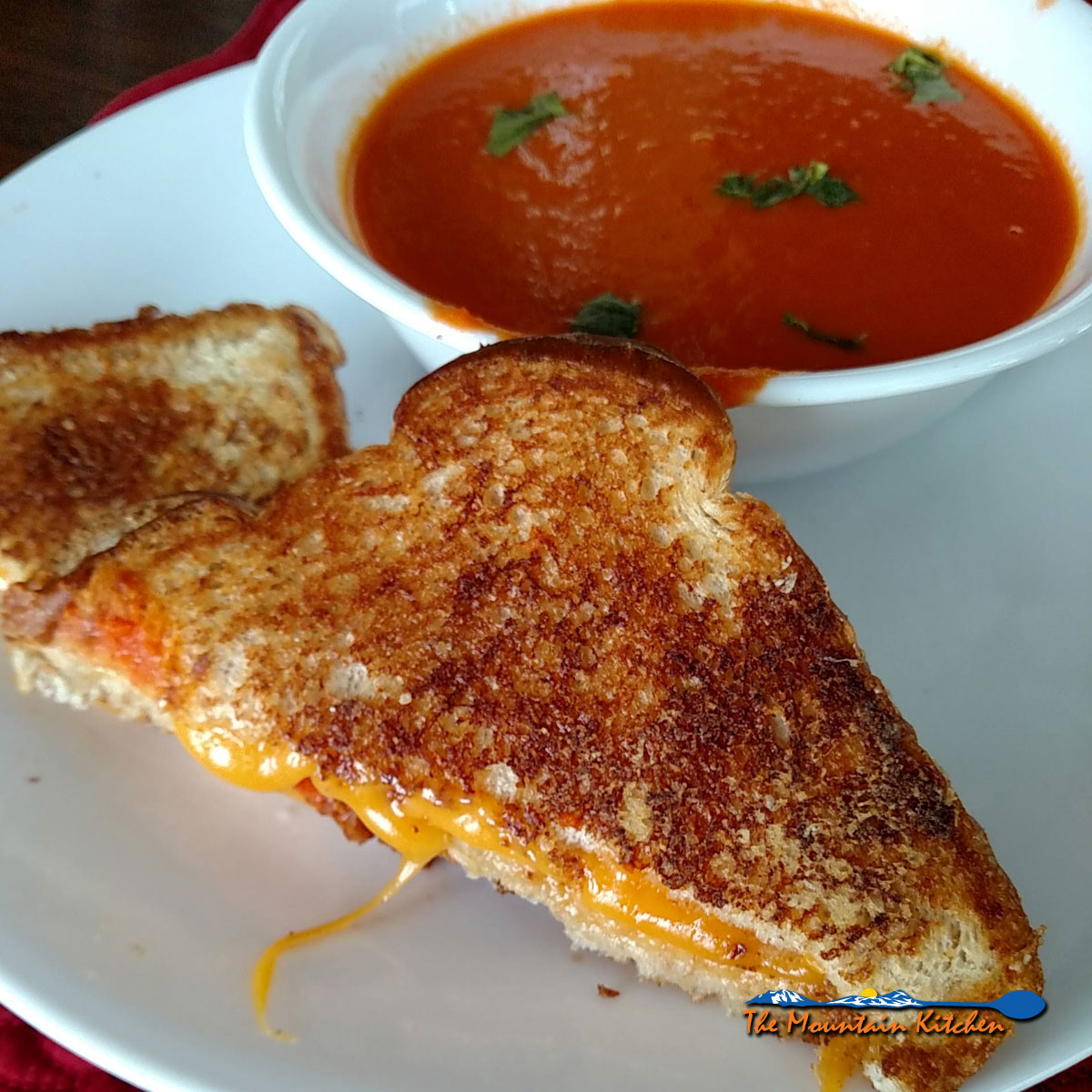 Pioneer Tomato Soup {A Meatless Monday Recipe