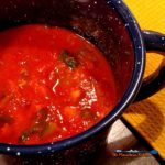 Easy to make, this healthy sun-dried tomato soup is hearty, with the right amount of spice and filled with wholesome vegetables, guaranteed warm you up and leave you feeling satisfied.   TheMountainKitchen.com