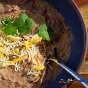 "Christina's Refried Beans {Crock-Pot ""Refried"" Beans"