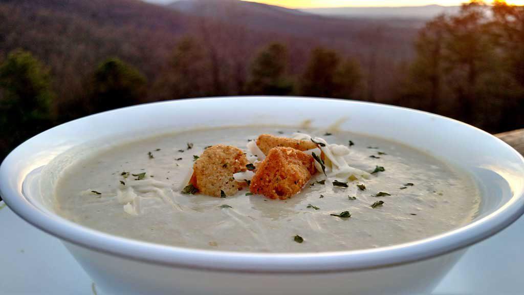 Crock-pot Potato Leek Soup