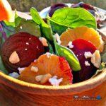 roasted beet citrus salad
