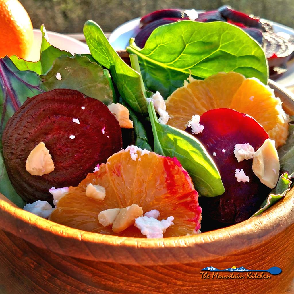 Roasted Beet Citrus Salad {A Meatless Monday Recipe
