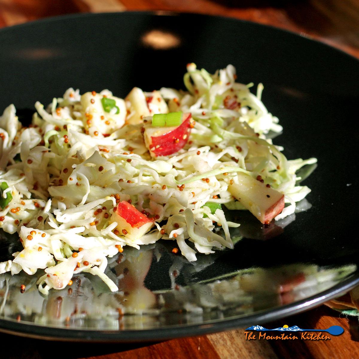 Apple-Cabbage Slaw