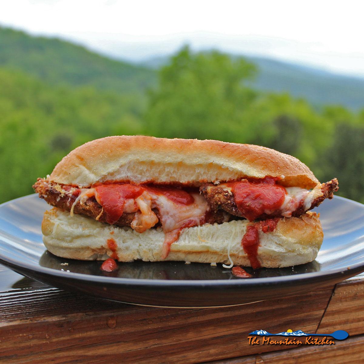 Chicken Parmesan Sub Sandwiches