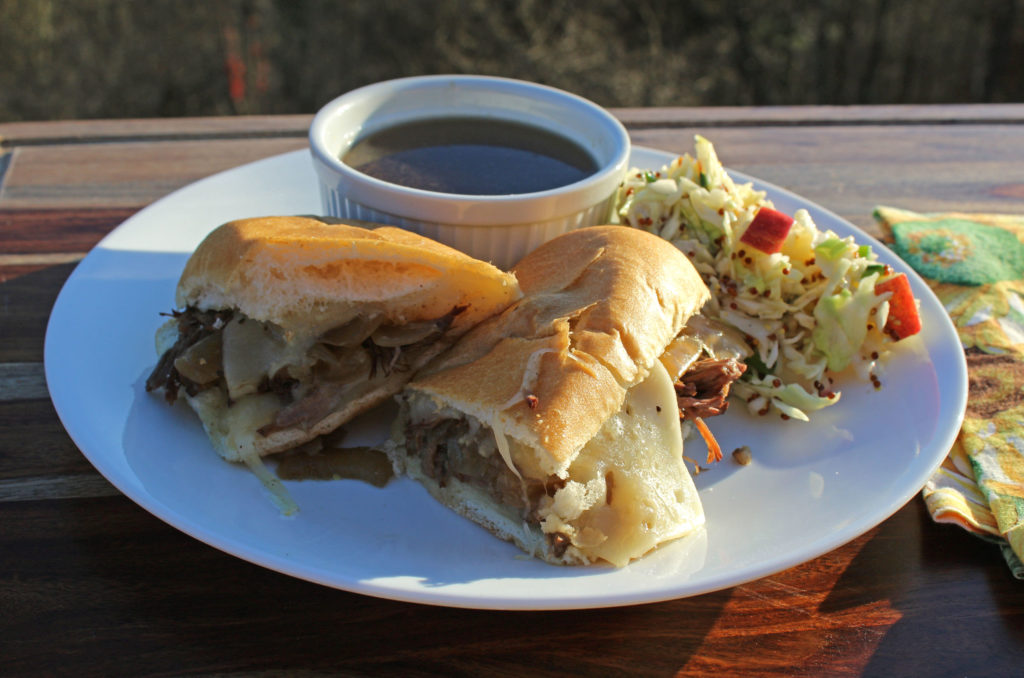 French Dip Sandwiches | TheMountainKitchen.com