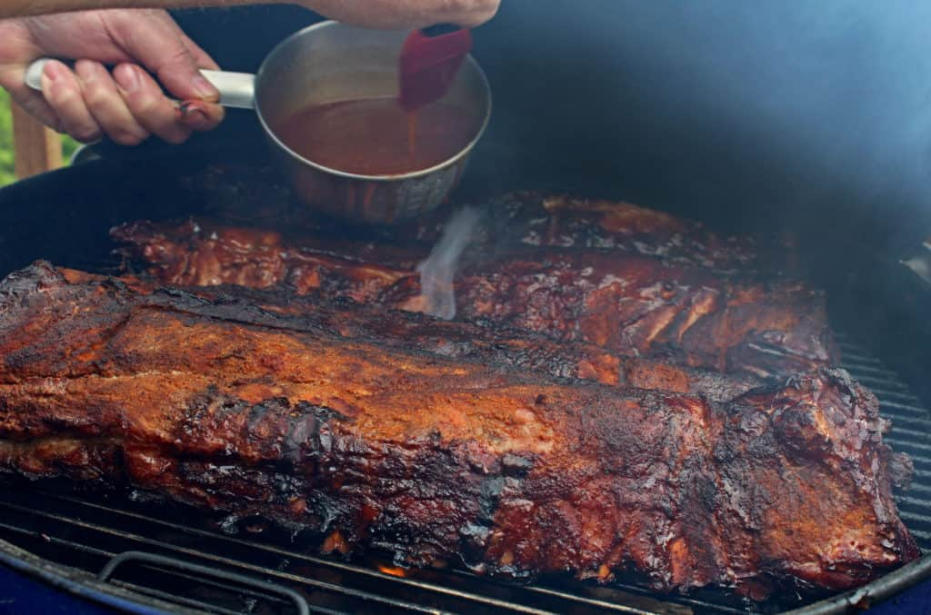 how to cook already smoked ribs