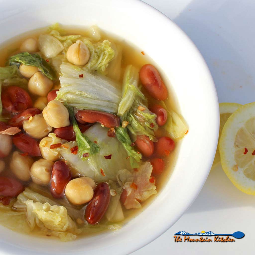Napa Cabbage And Bean Soup A Meatless Monday Recipe