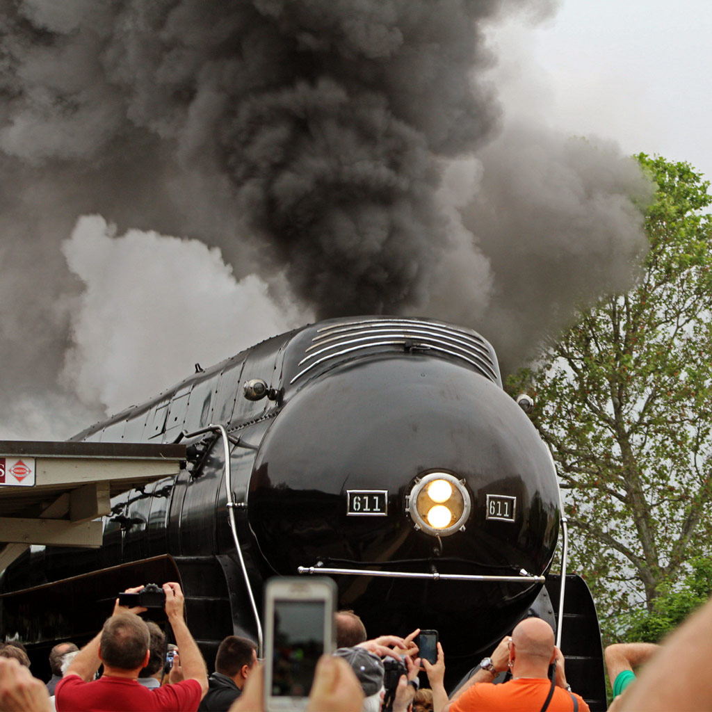 611 Steam Engine Train: Taking a Ride on a Piece of History