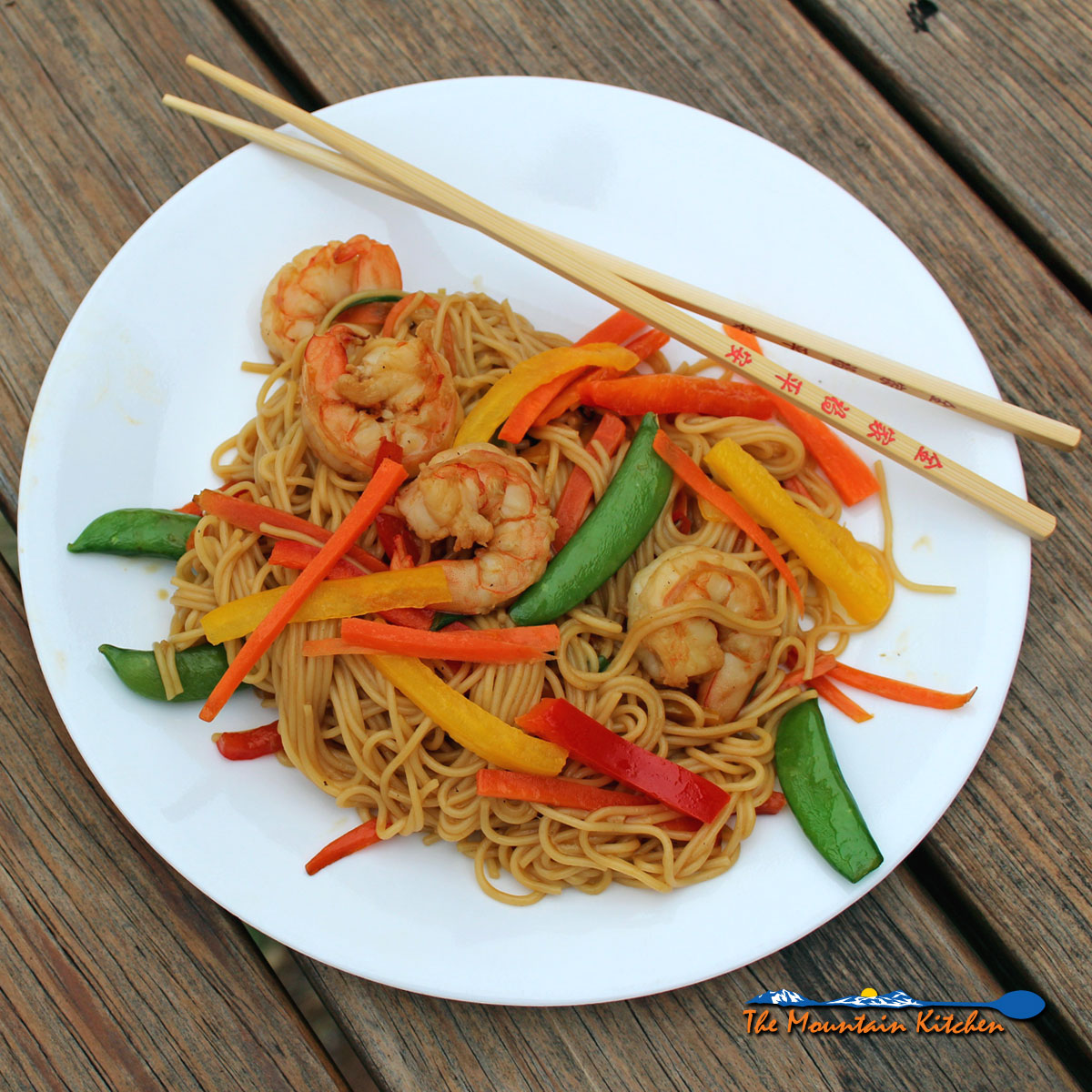 This quick and easy shrimp lo mein is guaranteed to satisfy your take-out craving in less than 30 minutes in your very own kitchen.