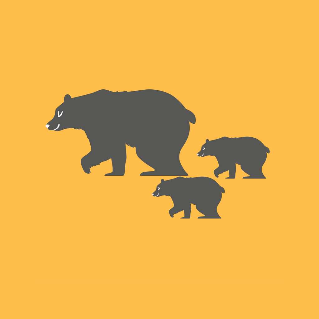 Bears On The Mountain