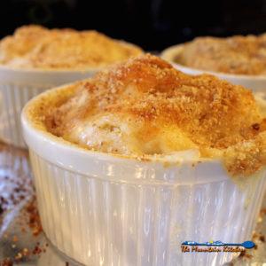 Individual Cauliflower Gratins {A Meatless Monday Recipe