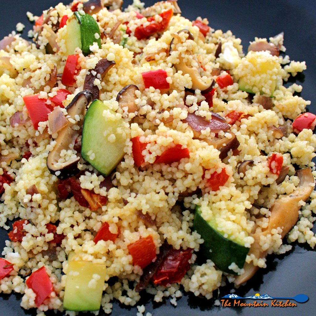Summer Vegetable Couscous Salad {A Meatless Monday Recipe