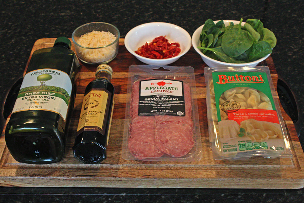 ingredients to make pasta salad