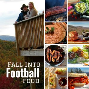 Fall Into Football Food