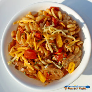 Cajun Pasta With Andouille Sausage {A One-Pot Wonder Meal